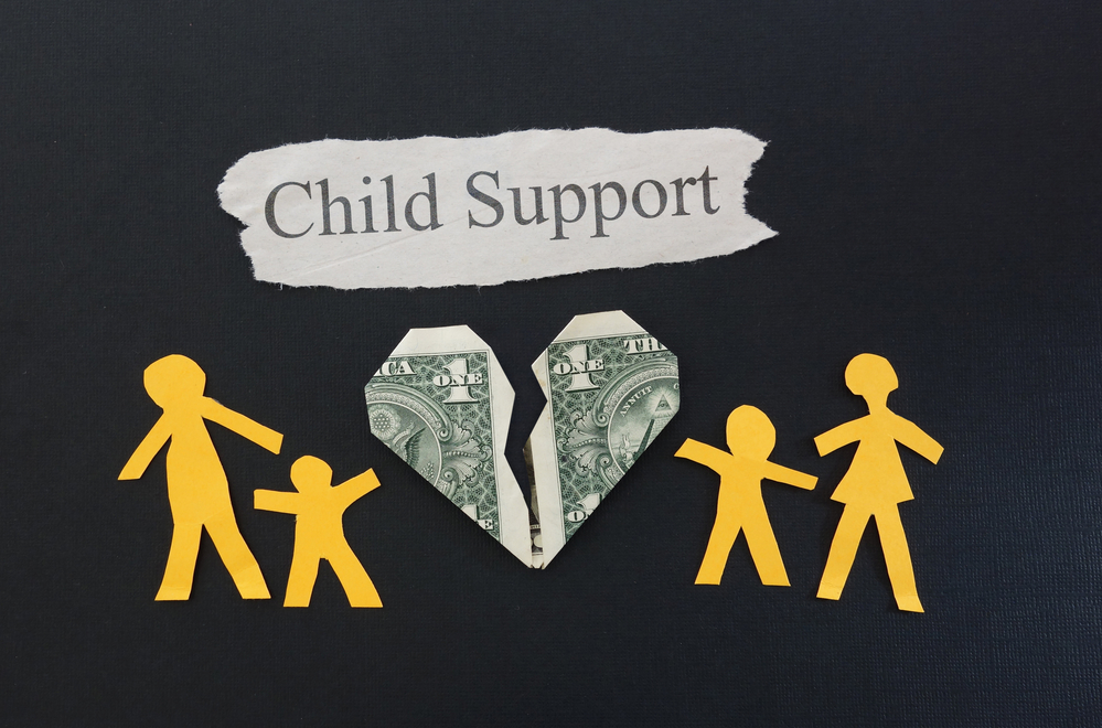 child support cut outs