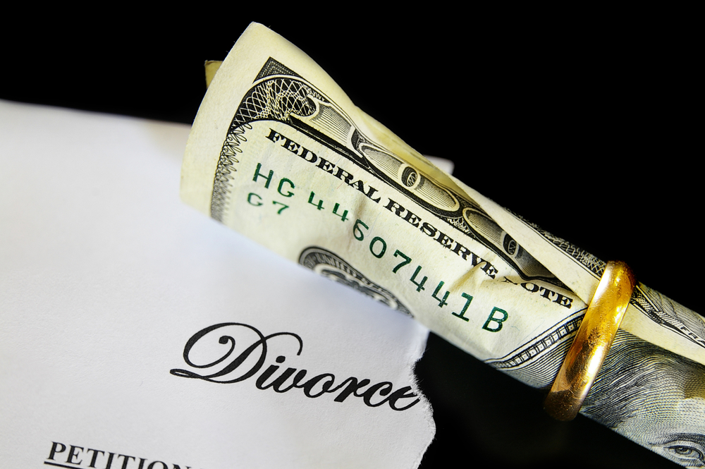 divorce cash